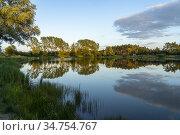 See bei der Hansestadt Werben, Sachsen-Anhalt, Deutschland | lake... Стоковое фото, фотограф Peter Schickert / age Fotostock / Фотобанк Лори