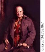 Laszló FüLöp Elek - Julian Byng 1st Viscount Byng of Vimy - Hungarian... Стоковое фото, фотограф Artepics / age Fotostock / Фотобанк Лори