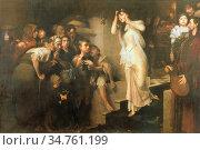 Gyárfás Jenõ - the Ordeal of the Bier - Hungarian School - 19th Century... Редакционное фото, фотограф Artepics / age Fotostock / Фотобанк Лори