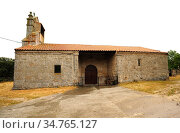Tudera, San Pedro church. Sayago, Zamora province, Castilla y Leon... Стоковое фото, фотограф J M Barres / age Fotostock / Фотобанк Лори