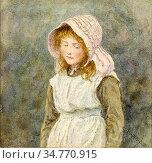 Allingham Helen - Betty - British School - 19th Century. Стоковое фото, фотограф Artepics / age Fotostock / Фотобанк Лори