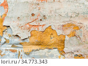Close-up Textured background of multi-layer flaking paint on the wall... Стоковое фото, фотограф Zoonar.com/Ian Iankovskii / easy Fotostock / Фотобанк Лори