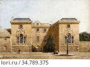 Pyne George - Worcester College Library Exterior Oxford - British... Редакционное фото, фотограф Artepics / age Fotostock / Фотобанк Лори