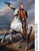 Keyser Nicaise De - Willem II Koning Der Nederlanden Als Prins Van... Редакционное фото, фотограф Artepics / age Fotostock / Фотобанк Лори