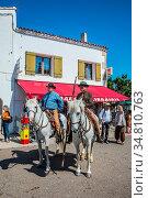 Sent-Mari-de-la-Mer, Provence, France - May 25, 2015. The concept... Стоковое фото, фотограф Zoonar.com/kavram / easy Fotostock / Фотобанк Лори