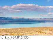 Unusual Mono lake formations in autumn season. Стоковое фото, фотограф Zoonar.com/Galyna Andrushko / easy Fotostock / Фотобанк Лори