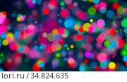 Abstract background with multicolored bokeh. 3d rendering. Стоковое фото, фотограф Zoonar.com/Roman Budnikov / easy Fotostock / Фотобанк Лори