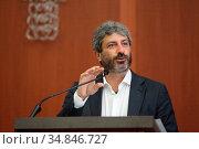 Roberto Fico, President of the Chamber of Deputies( Presidente della... Редакционное фото, фотограф Salvatore Esposito / age Fotostock / Фотобанк Лори