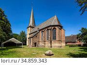 Huenxe, Huenxe-Drevenack, Lippe, Niederrhein, Muensterland, Ruhrgebiet... Стоковое фото, фотограф Werner OTTO / age Fotostock / Фотобанк Лори