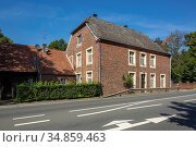 Dorsten, Dorsten-Deuten, Lippe, Ruhrgebiet, Naturpark Hohe Mark Westmuensterland... Стоковое фото, фотограф Werner OTTO / age Fotostock / Фотобанк Лори