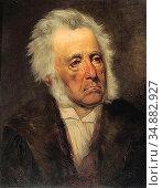 Canon Hans - Portrait of Arthur Schöpenhauer - Austrian School - ... Редакционное фото, фотограф Artepics / age Fotostock / Фотобанк Лори