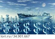UIG-71096_RF_32_SAILING_FINANCIAL_OCEAN_200A1H. Стоковое фото, фотограф UNIVERSAL IMAGES GROUP / age Fotostock / Фотобанк Лори