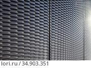 Metal mesh surface background. Стоковое фото, фотограф Юрий Бизгаймер / Фотобанк Лори