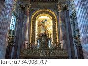 Altar der Jesuitenkirche in Wien, Österreich, Europa | The Jesuit... Стоковое фото, фотограф Peter Schickert / age Fotostock / Фотобанк Лори
