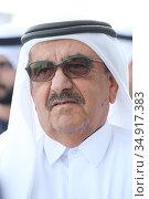 Dubai, United Arab Emirates, Sheik Hamdan bin Rashid al Maktoum (2019 год). Редакционное фото, агентство Caro Photoagency / Фотобанк Лори
