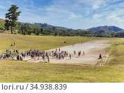 Olympia, Peloponnese, Greece. Ancient Olympia. The stadium where ... Стоковое фото, фотограф Ken Welsh / age Fotostock / Фотобанк Лори