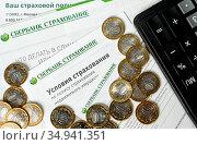 Полис страхования недвижимого имущества сбербанка. Стоковое фото, фотограф Антонина / Фотобанк Лори