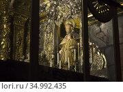 St. James in the Cathedral of Santiago de Compotela. Galicia, Spain. Стоковое фото, фотограф Andre Maslennikov / age Fotostock / Фотобанк Лори