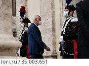 Funeral of Gigi Proietti, Pierluigi Toti attends the funeral in Piazza... Редакционное фото, фотограф Maria Laura Antonelli / AGF/Maria Laura Antonelli / age Fotostock / Фотобанк Лори