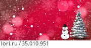 Christmas greetings, festive background for the images. Стоковая иллюстрация, иллюстратор Galina Tolochko / Фотобанк Лори