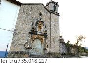 Nuestra Señora de Vallivana sanctuary (14-18th centuries). Els Ports... Стоковое фото, фотограф J M Barres / age Fotostock / Фотобанк Лори