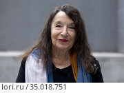 Petra Martinez poses for a photo session on November 8, 2020 in Madrid... Редакционное фото, фотограф Nacho López / age Fotostock / Фотобанк Лори