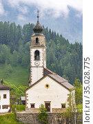 Sauris di sotto, Friuli-Venezia Giulia, Italy. Стоковое фото, фотограф Richard Semik / easy Fotostock / Фотобанк Лори