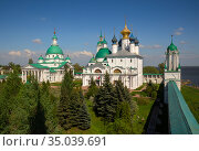 Spaso-Yakovlevsky Monastery in Rostov (2019 год). Стоковое фото, фотограф Юлия Бабкина / Фотобанк Лори