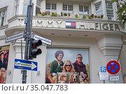 Confluence of fasanenstrasse and kurfürstenstrasse streets. Tommy... Редакционное фото, фотограф Sergi Reboredo / age Fotostock / Фотобанк Лори