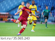 Jordan Veretout (Roma) during the match ,Rome, ITALY-22-11-2020. Редакционное фото, фотограф Federico Proietti / SYNC / AGF/Federico Proietti / / age Fotostock / Фотобанк Лори