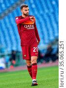 Borja Mayoral (Roma) during the match ,Rome, ITALY-22-11-2020. Редакционное фото, фотограф Federico Proietti / SYNC / AGF/Federico Proietti / / age Fotostock / Фотобанк Лори