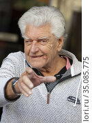 David Prowse attends the 'I Am Your Father'' photocall at the Verdi... (2015 год). Редакционное фото, фотограф Nacho López / age Fotostock / Фотобанк Лори