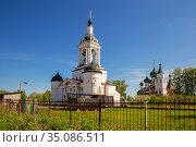 Avraamiev Epiphany Monastery in Rostov (2019 год). Стоковое фото, фотограф Юлия Бабкина / Фотобанк Лори