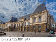Rennes, France. Parliament of Brittany (Parlement de Bretagne) (2017 год). Редакционное фото, фотограф Rokhin Valery / Фотобанк Лори