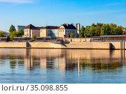 Warsaw, Mazovia / Poland - 2020/05/09: Karowa Clinical Hospital - ... Редакционное фото, фотограф bialorucki bernard / age Fotostock / Фотобанк Лори