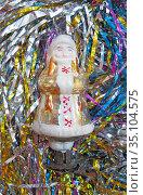 """Советская елочная игрушка """"Машенька"""" (2020 год). Редакционное фото, фотограф Мария Кылосова / Фотобанк Лори"""