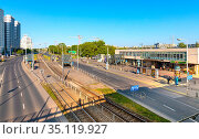 Warsaw, Mazovia / Poland - 2020/05/10: Warszawa Gdanska railway station... Редакционное фото, фотограф bialorucki bernard / age Fotostock / Фотобанк Лори