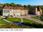 Warsaw, Mazovia / Poland - 2020/05/10: Panoramic view of historic... Редакционное фото, фотограф bialorucki bernard / age Fotostock / Фотобанк Лори