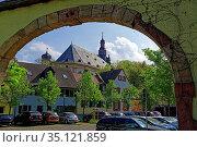 Gebäude, historisch, Dreifaltigkeitskirche. Стоковое фото, фотограф Bernd J. W. Fiedler / age Fotostock / Фотобанк Лори