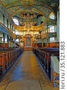 Protestantische Dreifaltigkeitskirche. Стоковое фото, фотограф Bernd J. W. Fiedler / age Fotostock / Фотобанк Лори