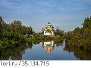 Smolensk Cathedral in Olonets, Karelia (2014 год). Стоковое фото, фотограф Юлия Бабкина / Фотобанк Лори