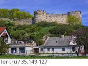 Castle in Devin, borough of Bratislava, one of the oldest castles... Стоковое фото, фотограф Konrad Zelazowski / age Fotostock / Фотобанк Лори