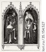 Peter II of Bourbon (1438-1503) Duke of Bourbon and Auvergne and ... Стоковое фото, фотограф Jerónimo Alba / age Fotostock / Фотобанк Лори