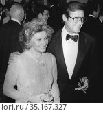 Roger Moore and wife Undated.Photo By John Barrett/PHOTOlink.. (2005 год). Редакционное фото, фотограф Adam Scull / age Fotostock / Фотобанк Лори