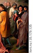 Art, Luigi Mussini, 1813-1888, title of the work, The triumph of ... Стоковое фото, фотограф Molteni &Motta / age Fotostock / Фотобанк Лори