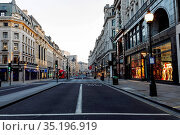 England, London, Regent Street. Стоковое фото, фотограф Steve Vidler / age Fotostock / Фотобанк Лори