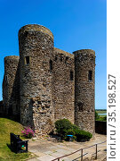 England, East Sussex, Rye, Ypres Tower and Rye Castle Museum. Стоковое фото, фотограф Steve Vidler / age Fotostock / Фотобанк Лори