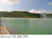 Abrau Durso mountain and lake, Caucasus, Russia. Стоковое фото, фотограф Арестов Андрей Павлович / Фотобанк Лори