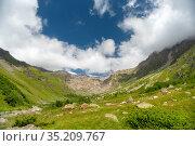 Mountains in the Elbrus area in spring. Стоковое фото, фотограф Арестов Андрей Павлович / Фотобанк Лори