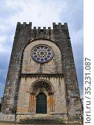 Romanesque church of San Nicolás. Portomarín. Camino de Santiago. ... Стоковое фото, фотограф Jacobo Hernández / age Fotostock / Фотобанк Лори